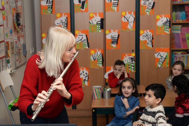 Fluitdocente Tineke van Geuns